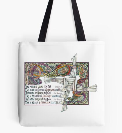 Home Blessing Tote Bag