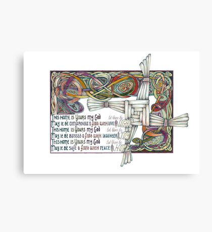 Home Blessing Canvas Print