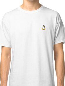 Linux Tux Sticker Classic T-Shirt