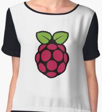 Raspberry Pi Logo Women's Chiffon Top