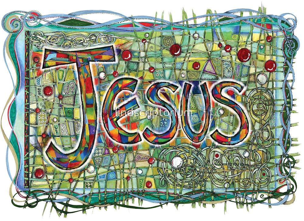 Jesus by lindscriptorium