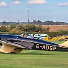 Miles M2L Hawk Speed Six G-ADGP by Colin Smedley