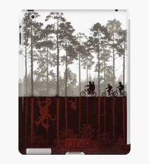 stranger things - forest iPad Case/Skin