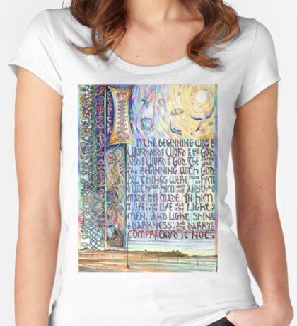 John 1 Women's Fitted Scoop T-Shirt