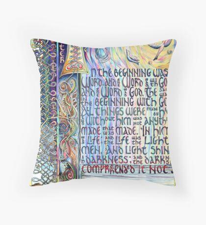 John 1 Throw Pillow