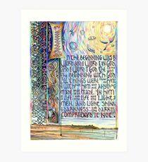 John 1 Art Print