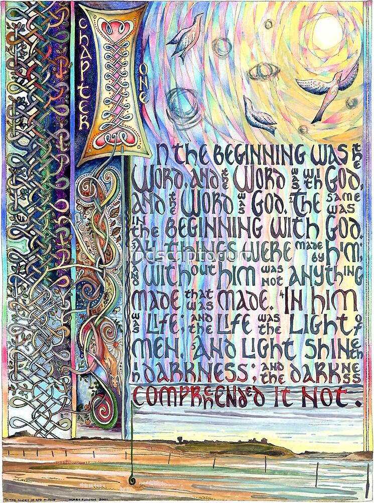 John 1 by lindscriptorium