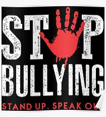physical bullying posters redbubble