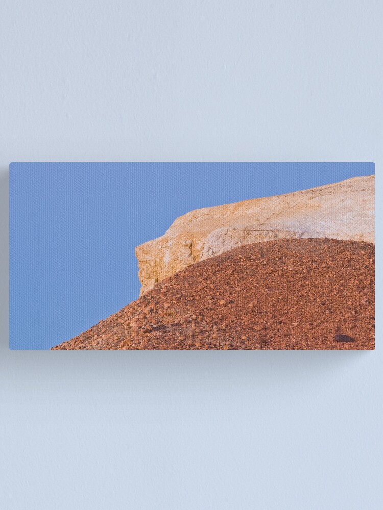 Alternate view of Ochre hills at dusk Canvas Print