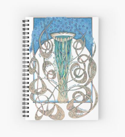 Never Thirst Again Spiral Notebook