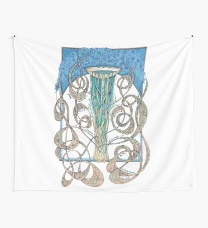 Never Thirst Again Wall Tapestry