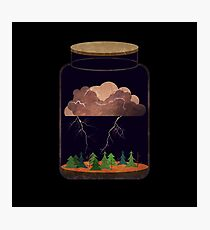 Lightning in a Bottle Photographic Print