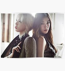 Taeyeon and Tiffany Poster