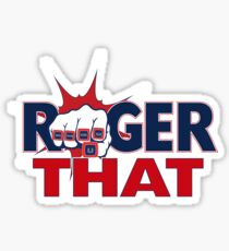 Tom Brady Roger That Sticker