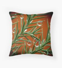 Drops of Jupiter Two Throw Pillow