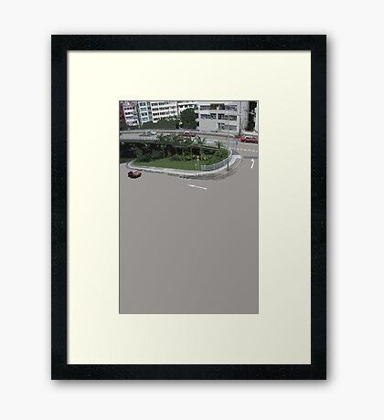 loop Framed Print