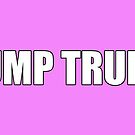 Dump Trump Protest Products (Pink) by Mark Podger