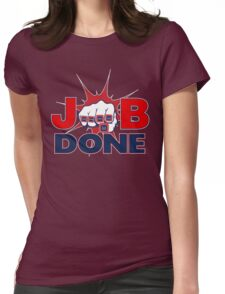 JOB DONE - 5X Super Bowl Champions! Womens Fitted T-Shirt
