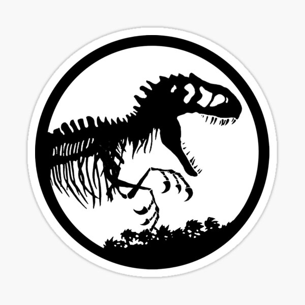 Jurassic World Logo / I made it look close to the original jurassic park design.