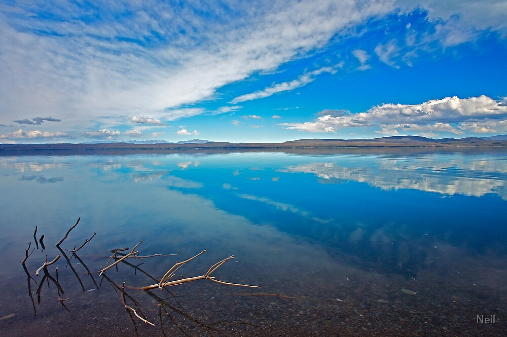 Lake Pukaki by Neil