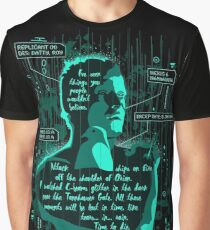 Roy Batty Graphic T-Shirt