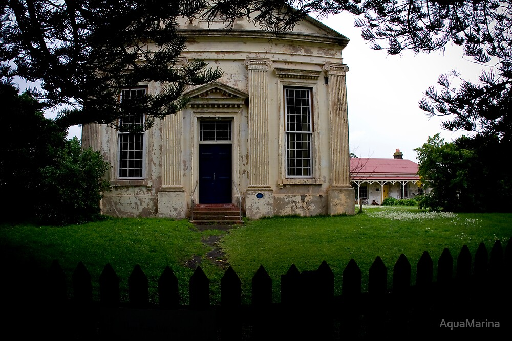 Hidden church by AquaMarina
