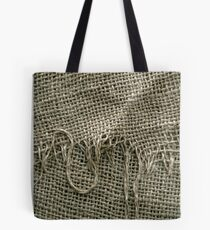 Sackleinen Sack Textur Tote Bag