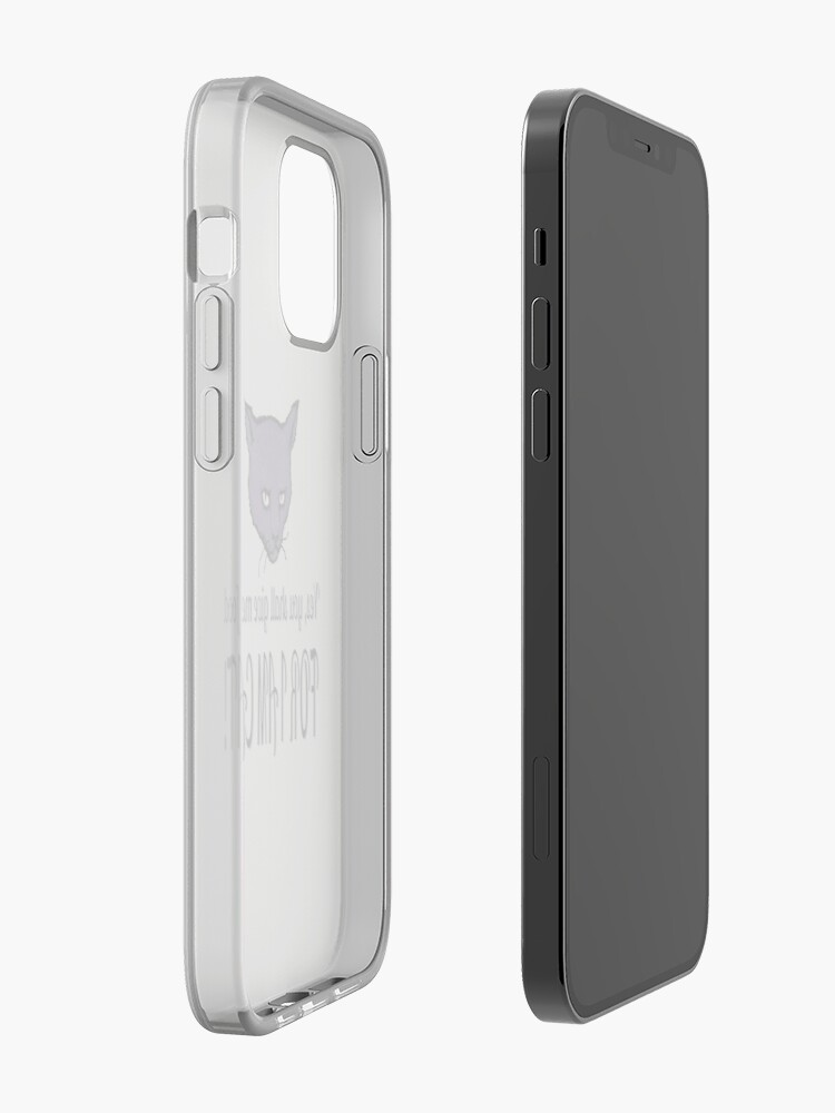 Alternate view of Yes, you shall give me food, FOR I AM CAT! iPhone Case & Cover