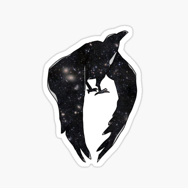 Gravity Daze Raven Sticker