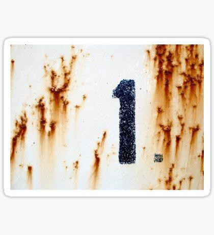 1. Sticker