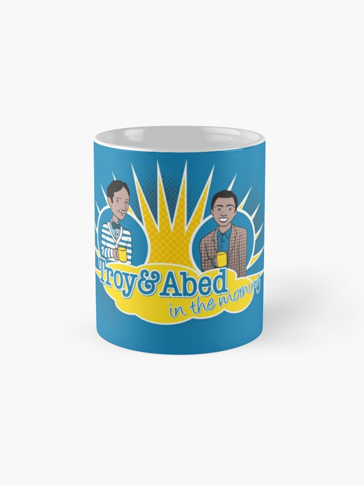 Alternate view of Troy and Abed in the Morning Mug