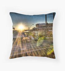White Bay Sunrise 1 Throw Pillow
