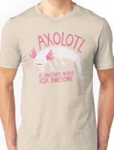 Another Word for Awesome Unisex T-Shirt