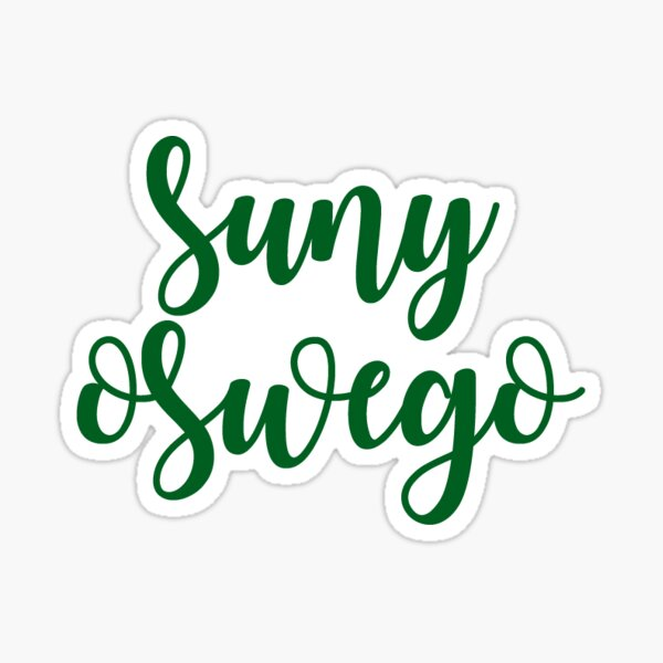 SUNY Oswego Sticker
