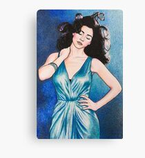 """Marina and the Diamonds 5 - """"I've been saving all my summers for you"""" Canvas Print"""