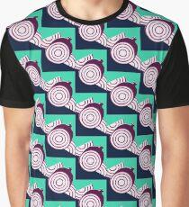 Modern Onions Food Illustration Graphic T-Shirt