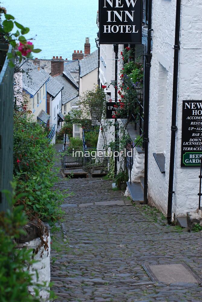 Quaint Devon village by imageworld