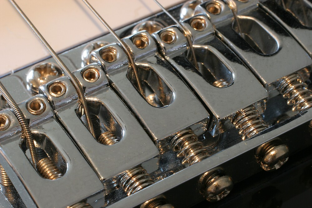 Electric Guitar Detail by Andy Keir