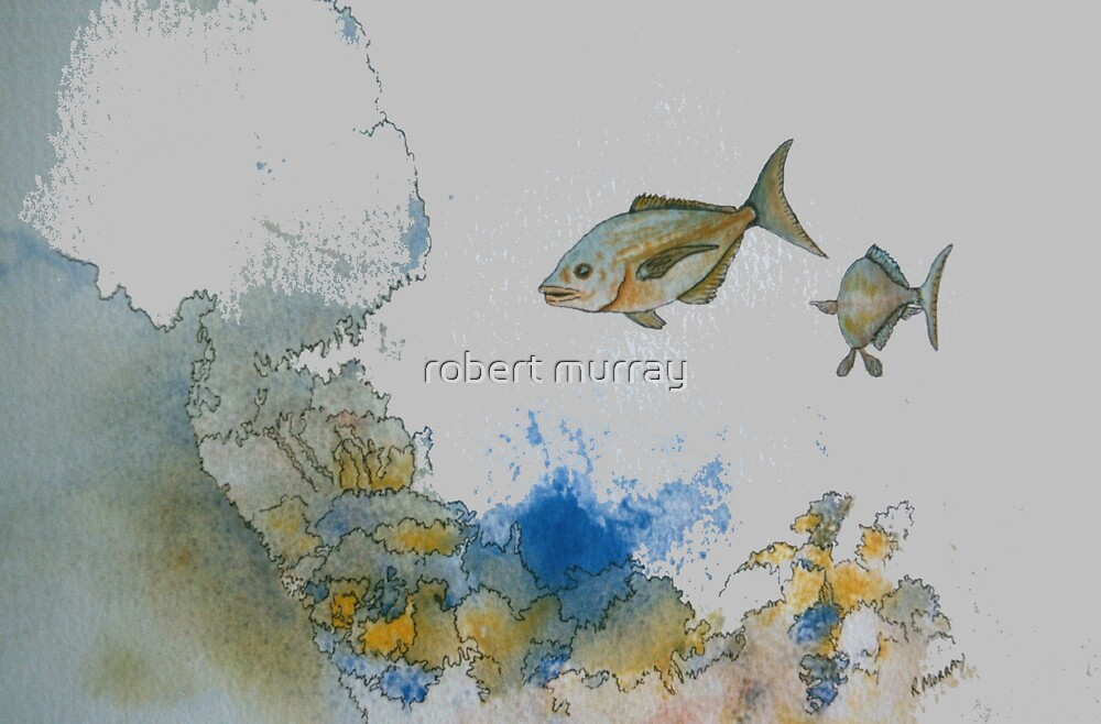 fish series...fish #2 by robert murray