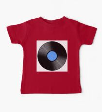Music Record Baby Tee