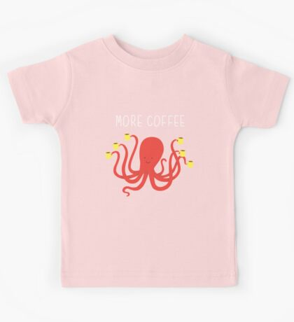 more coffee Kids Clothes