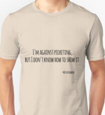 Funny Quote Mitch Hedberg Unisex T-Shirt