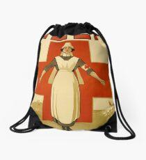 Nurse WWII Drawstring Bag
