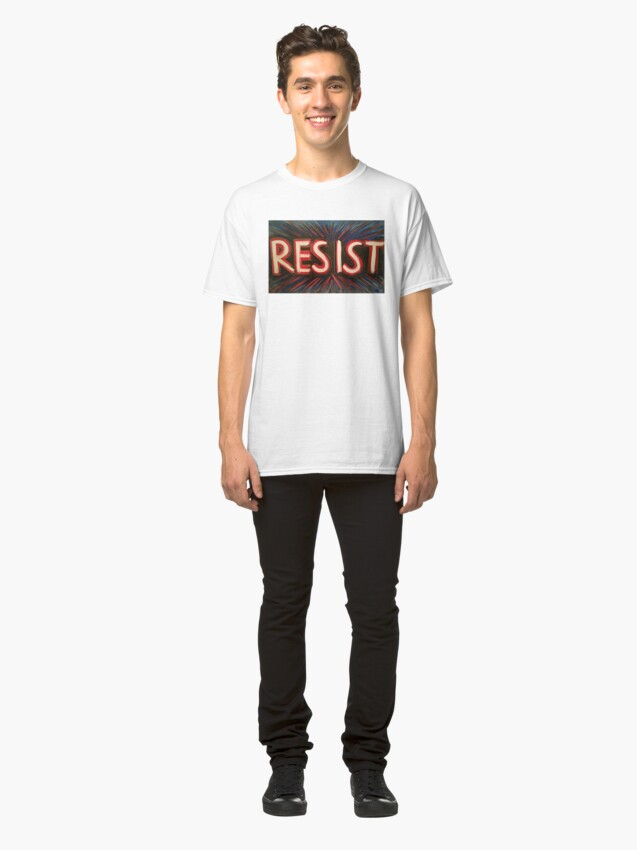 Vista alternativa de Camiseta clásica RESISTIR