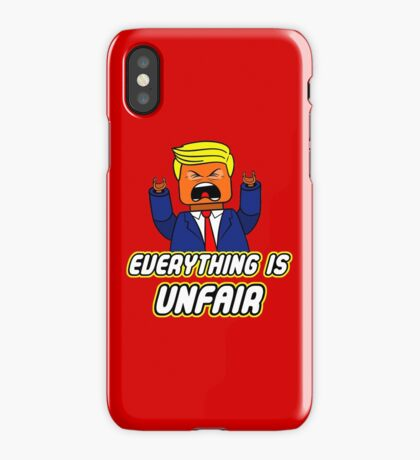 Everything Is Unfair iPhone Case/Skin
