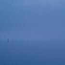 Red Channel Light, Misty Twilight, Queenscliff by Joe Mortelliti