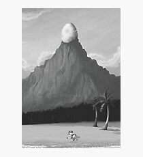 The Egg on the Mountain  Photographic Print