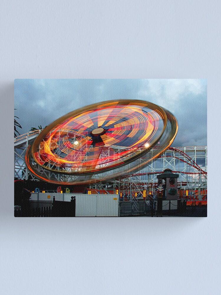 Alternate view of Luna Park Canvas Print