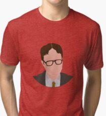Dwight K Schrute Simplified Tri-blend T-Shirt
