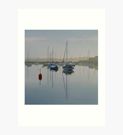 Swan Bay Harbour, Queenscliff Art Print
